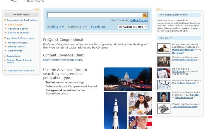 NYLI ProQuest Congressional Webinar