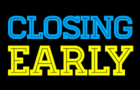 Good Friday Early Closing