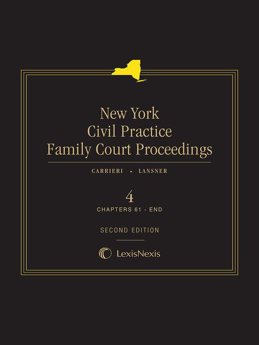 New York Civil Practice Family Court Proceedings
