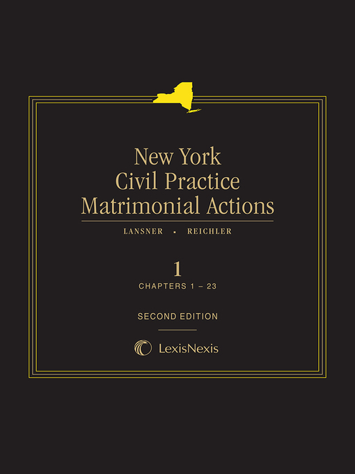 New York Civil Practice Matrimonial Actions