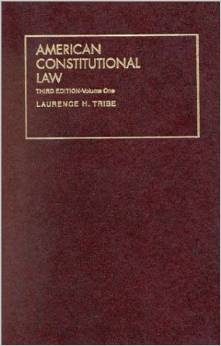 Tribe's American Constitutional Law