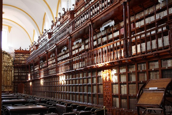 Palofoxia library in Mexico