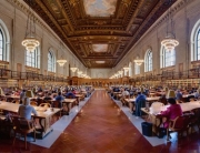 main research room, nypl